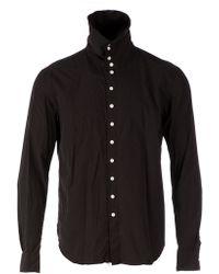 The Soloist - Funnel Neck Shirt - Lyst