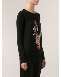 Markus Lupfer Sequined Deer Sweater - Lyst