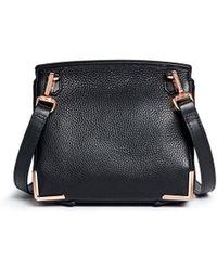 Alexander Wang 'Marion' Grainy Leather Crossbody Bag - Lyst