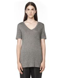 Alexander Wang Classic Tee with Pocket - Lyst