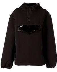 Christopher Kane Oversized-pocket Sweatshirt - Lyst