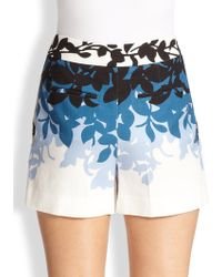 Carolina Herrera - Floral Shorts - Lyst