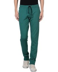 Scotch & soda Casual Pants in Green for Men | Lyst