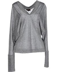 Vivienne Westwood Anglomania Long Sleeve Sweater - Lyst