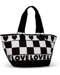 Love Moschino - Large Fabric Bag - Lyst