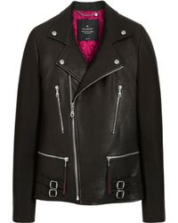 Mulberry Georgia May Jagger Biker Jacket - Black