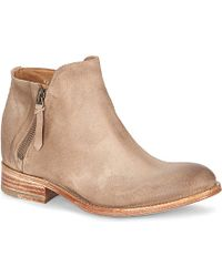 NDC Helene Leather Ankle Boots - For Women - Lyst