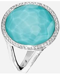 Ippolita Women'S 'Stella - Lollipop' Cocktail Ring - Silver/ Turquoise - Lyst