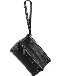 Givenchy | Pandora Studded Leather Wristlet | Lyst