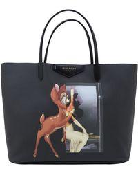 Givenchy Black Antigona Bambi Shopper Bag - Lyst