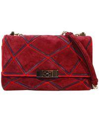 Roger Vivier Handbag Prismick Mini Crossbody Multicolor Suede - Lyst