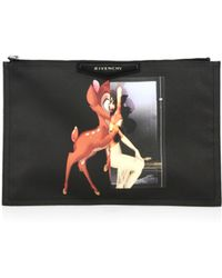 Givenchy Antigona Bambi  Female Form Large Pouch - Lyst