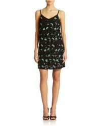 French Connection Embellished Shift Dress - Lyst