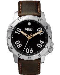 Nixon Ranger Stainless Steel Watch silver - Lyst