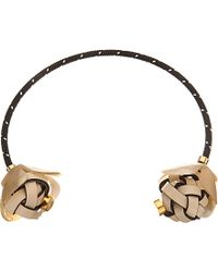 Marni Horn Choker Necklace - For Women - Lyst