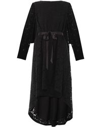 Adam Lippes Trapeze Hem Lace Dress - Lyst
