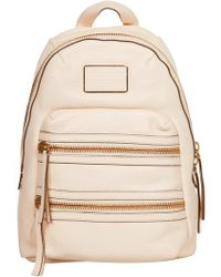 Marc By Marc Jacobs Domo Biker Backpack Leche - Lyst