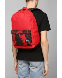 Stussy World Tour Backpack - Red