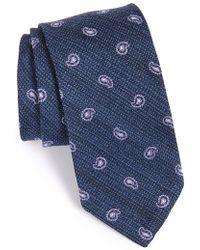 Maker & Company - Paisley Silk Tie - Lyst