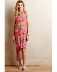 Mara Hoffman Shirtdress Cover-Up - Lyst