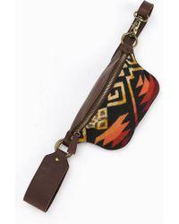 Pendleton - Blanketinset Leather Belt Bag - Lyst