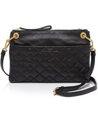 Marc By Marc Jacobs Crossbody - Tread Lightly Double - Black