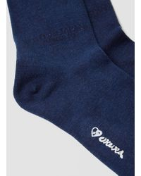 Blue Blue Japan Indigo Hand Dyed Socks Indigo - Blue