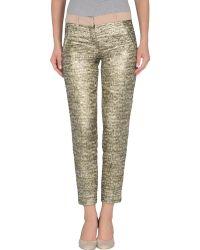 N°21 Casual Pants - Lyst