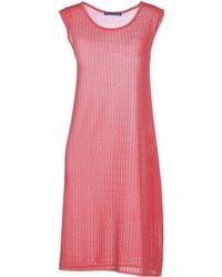 Blue Les Copains Short Dress - Lyst