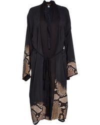 Roberto Cavalli Dressing Gown - Black