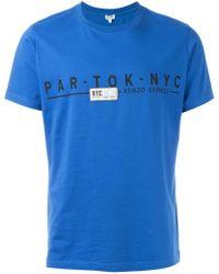 KENZO | Travel Tag T-shirt | Lyst