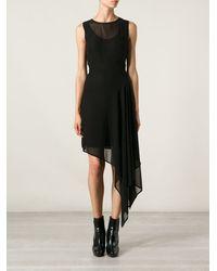 McQ by Alexander McQueen Asymmetric Dress - Lyst