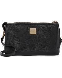 Kenneth Cole Alton Leather Crossbody Bag