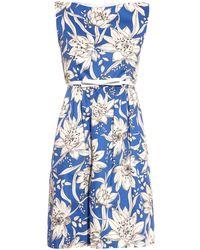 Max Mara Studio Argenta Dress blue - Lyst