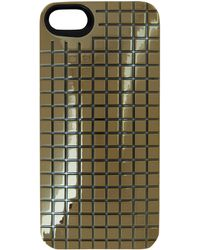 Marc By Marc Jacobs Gold-tone Mirror Ball Met Phone Case - Lyst