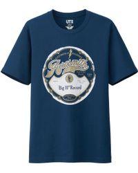 Uniqlo Men Music Icons Graphic Short Sleeve T Shirt - Lyst