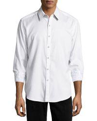 Robert Graham Marquee Tonal-Pattern Sport Shirt - Lyst