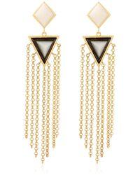 Isharya - Op Arts Earrings - Lyst