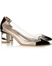 Nicholas Kirkwood Leather And Pvc Pumps - Lyst