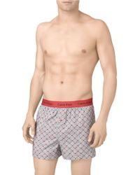 Calvin Klein Slim Fit Boxer Shorts - Lyst