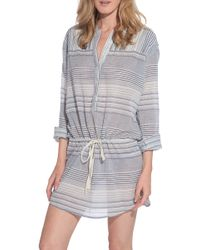 Xirena Dion Dress blue - Lyst