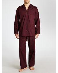 John Lewis - Cotton Poplin Dot Pyjamas - Lyst