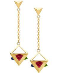 Ruifier - 'stella' Drop Earrings - Lyst