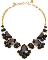 Kate Spade Day Tripper Clustered Bib Necklace - Lyst