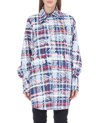 Vivienne Westwood Anglomania Tartan Shirt Dress - Lyst