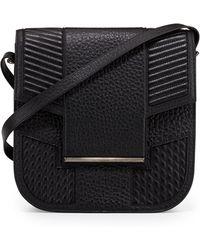 Reece Hudson Knox Leather Saddle Bag - Lyst