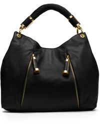 Michael Kors Tonne Leather Hobo Bag - Lyst