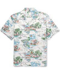 Visvim Short Sleeve Shirt - Lyst