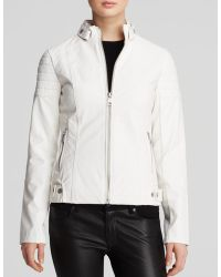 Sam Edelman Jacket - Chloe Quilted Faux Leather - Lyst