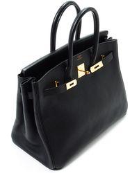 Hermès HermãˆS Black Birkin Handbag black - Lyst